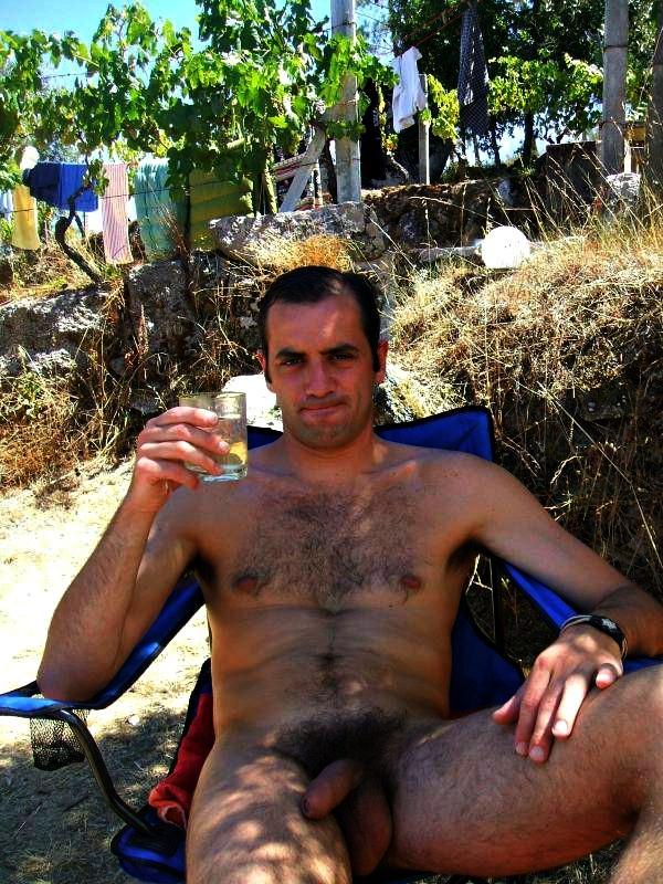 Nude hairy greek men