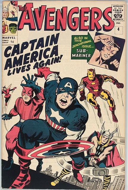 Captain America and The Avengers - Comic Book