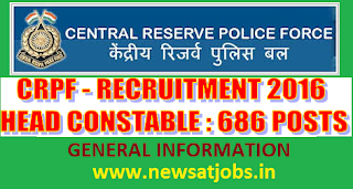 crpf+recruitment+general+information