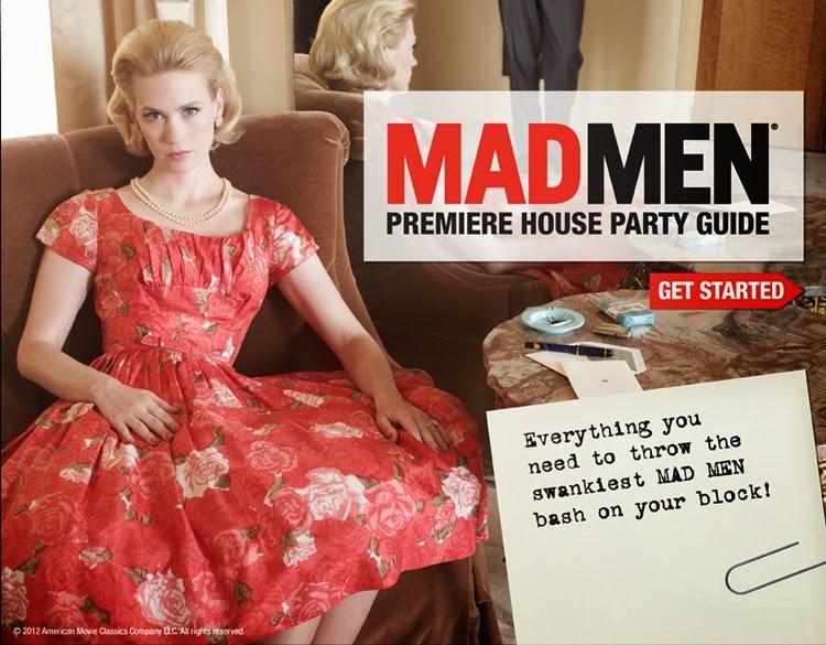 A Vintage Nerd, Mad Men, Vintage Blog, How to throw a Mad Men Party, 1960's Themed Party, Vintage Party Ideas