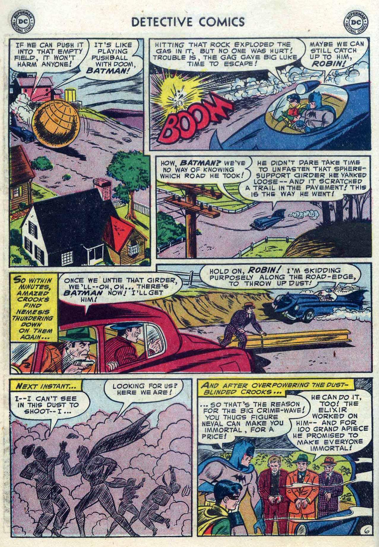 Read online Detective Comics (1937) comic -  Issue #204 - 8