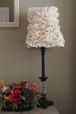 ruffle-lamp-shade