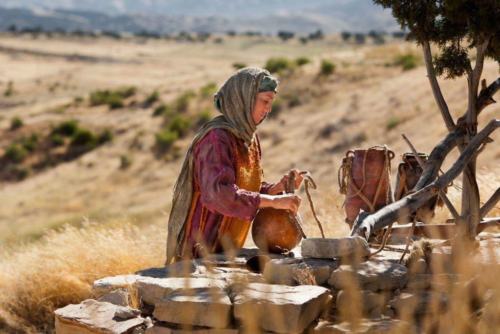Senhor, dê-me dessa água!, a mulher samaritana