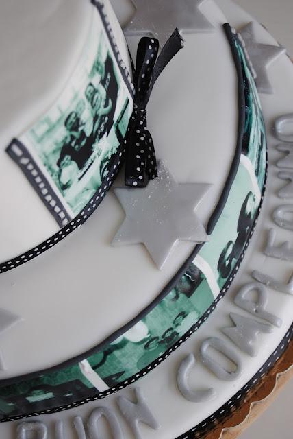 torta e biscotti compleanno 40 anni