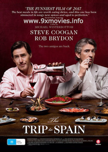 The Trip to Spain 2017 English 480p WEB-DL 300MB ESubs
