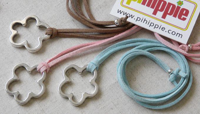 Regalos Comuniones collar antelina colores original