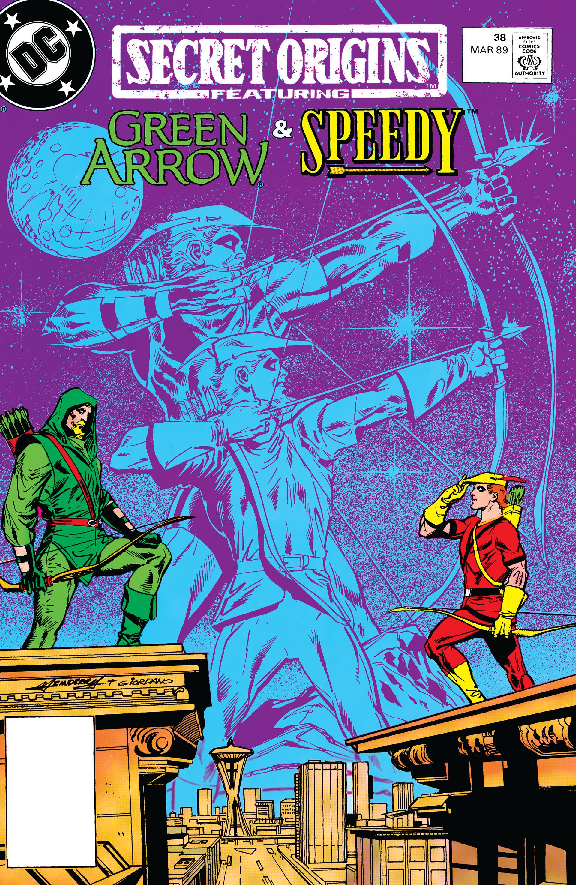Read online Secret Origins (1986) comic -  Issue #38 - 1