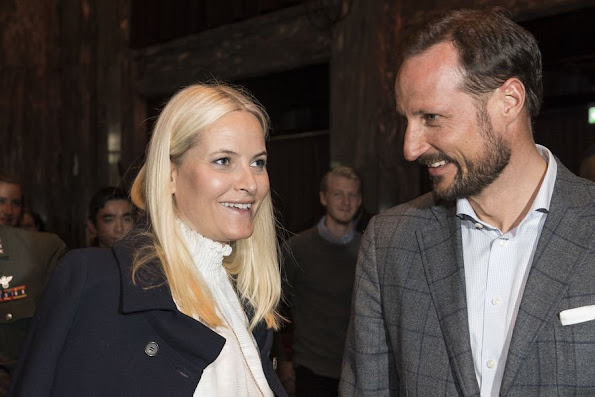 Crown Prince Haakon of Norway and Crown Princess Mette-Marit of Norway attended a panel on youth, education and entrepreneurship. That panel was the first of planned four panels also called VIBROdebatten