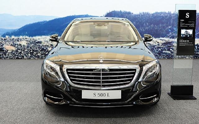 Mercedes S500 L 4MATIC có thiết kế đẳng cấp vượt trội