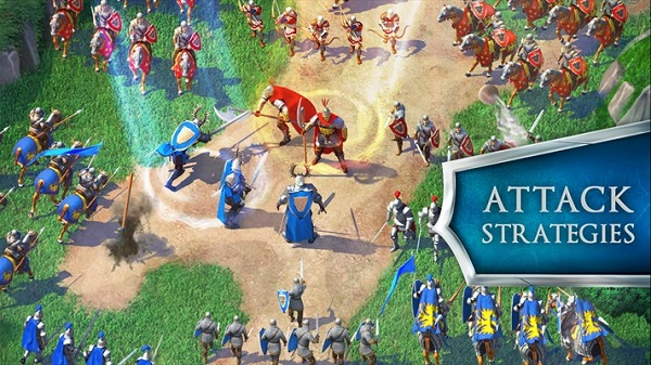 Gameloft launches March of Empires on Android, iOS and Windows Phone