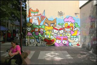 street art, art de rue, fresque, Santiago, Chili
