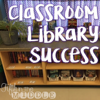 Read about organizational tips and tricks that I used in my fifth grade classroom library.