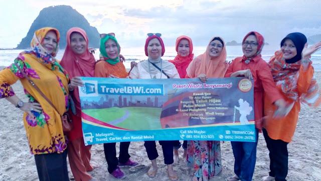 paket wisata banyuwangi 3h2m - Pulau Merah