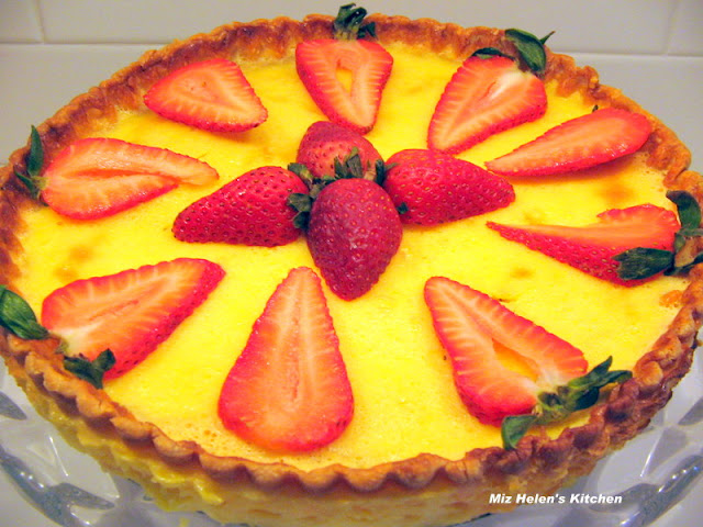 Lemon Tart at Miz Helen's Country Cottage