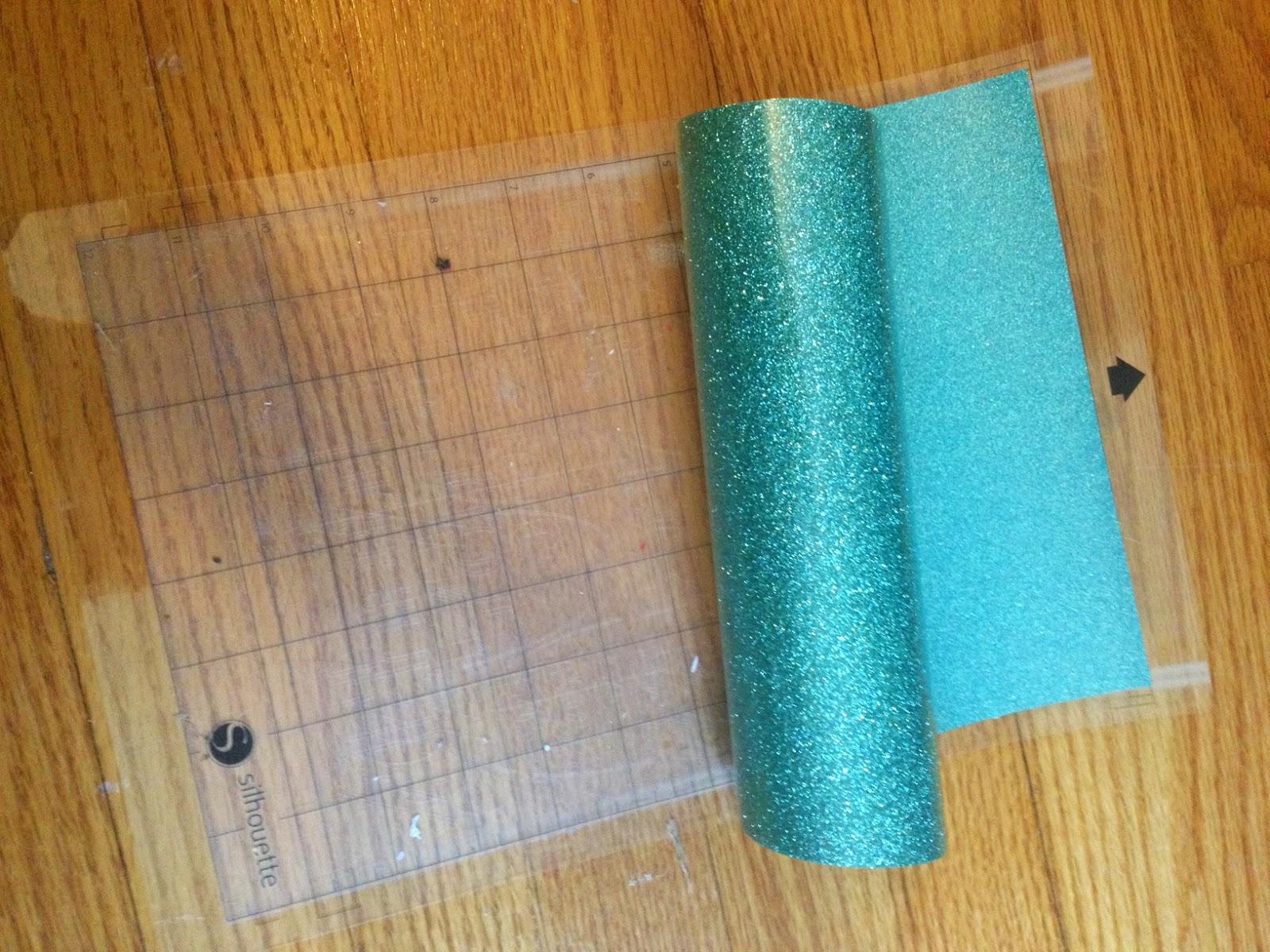 Book bag, library, glitter, heat transfer vinyl, htv, cutting mat
