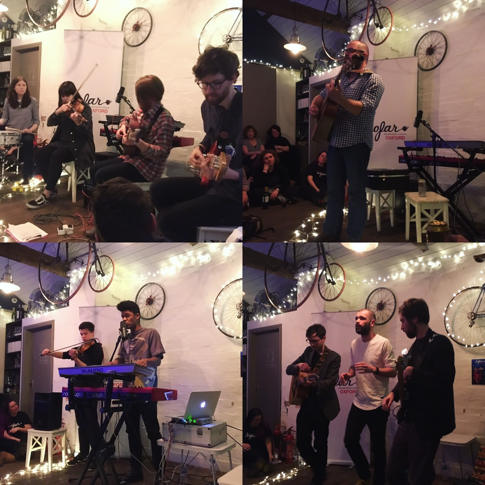 cool music and things: LIVE: Sofar Sounds Oxford at The Handle Bar
