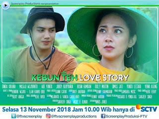 Nama dan Biodata Pemain FTV Kebun Teh Love Story
