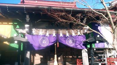 町田市の圓臨寺 本堂