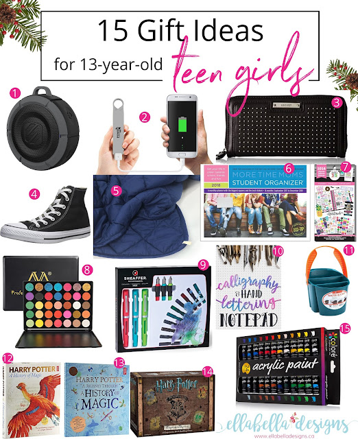 15 Gift Ideas for 13-Year-Old Teen Girls Gift Guide