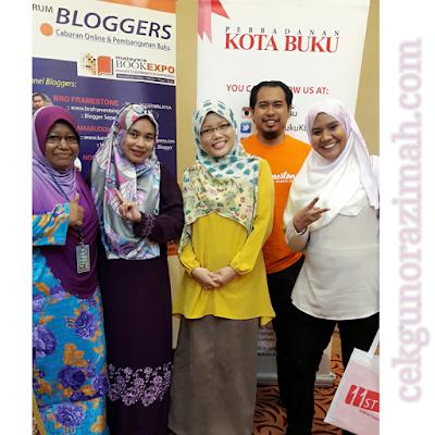 blogger malaysia, forum blogger, blogger jutawan, yayasan pembangunan buku negara, ekspo buku malaysia,