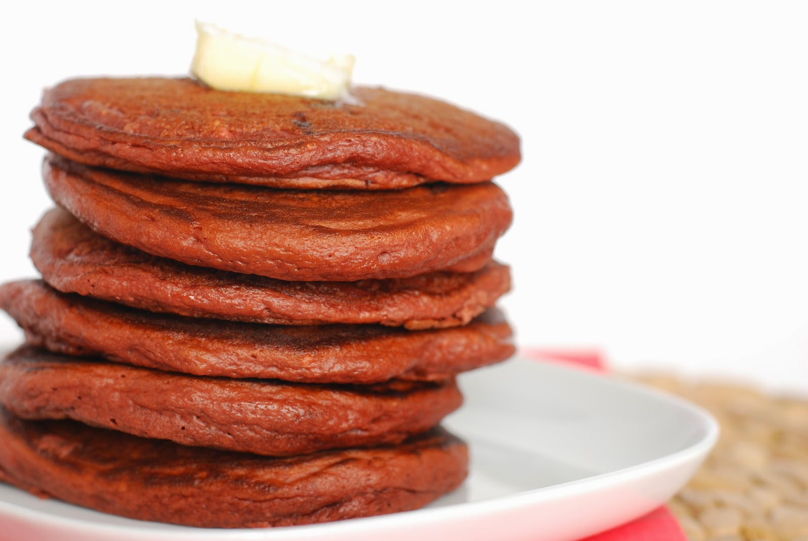 Call Me Fudge: Red Velvet Pancakes