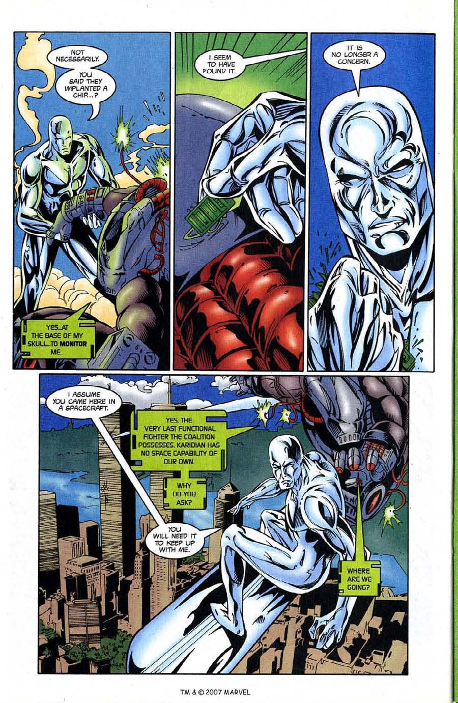 Read online Silver Surfer (1987) comic -  Issue #124 - 28
