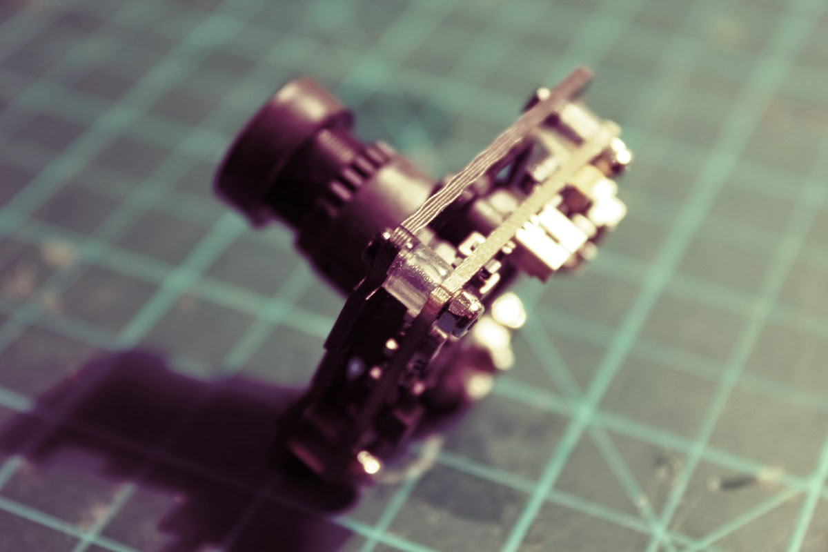 How to smooth FPV camera vibrations
