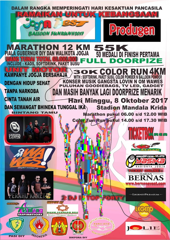 Jogjafest Fun Run • 2017