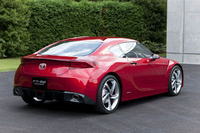 Toyota GT86 rear look