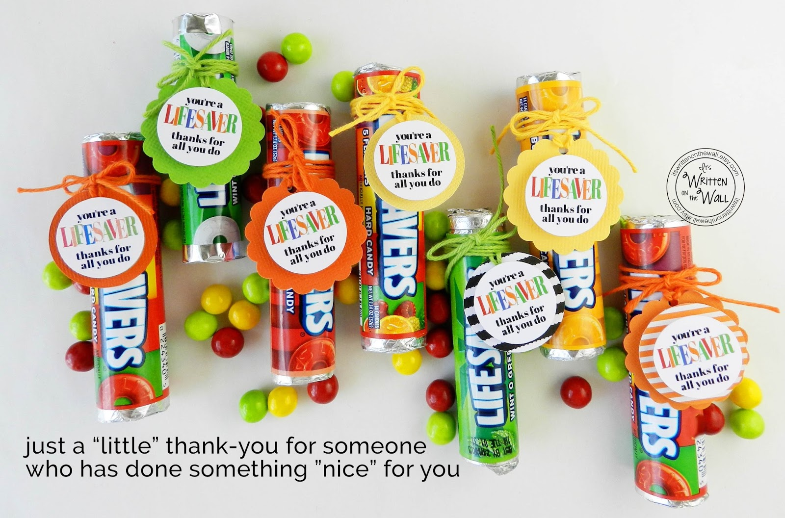 You're a Lifesaver, Thanks for All You Do! (Tags)