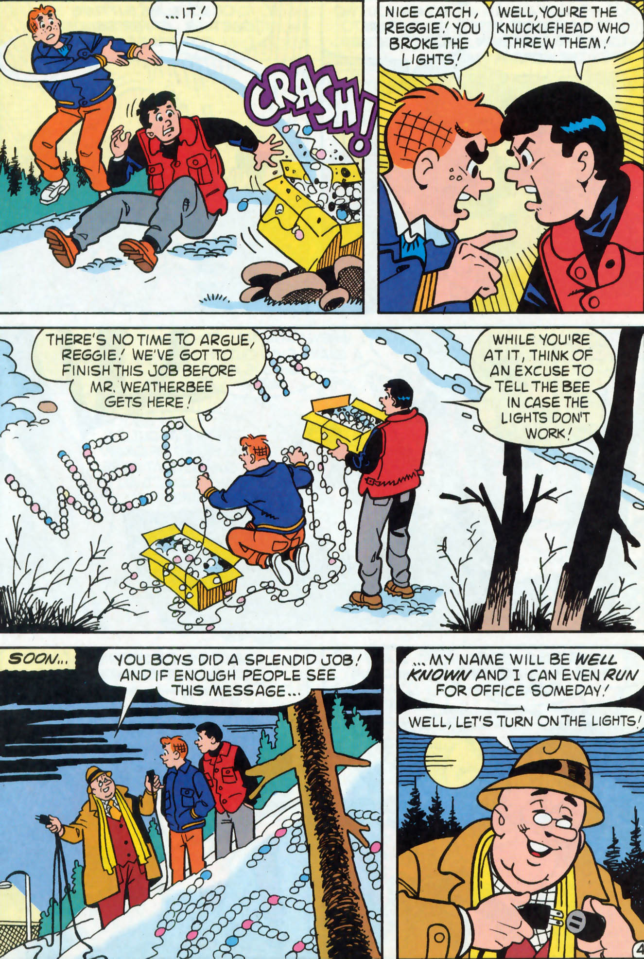 Read online Archie (1960) comic -  Issue #467 - 23