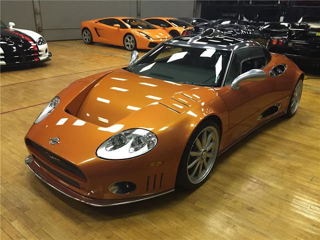 Spyker C8 Laviolette 2000s Dutch supercar