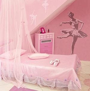 Dormitorio temático niña