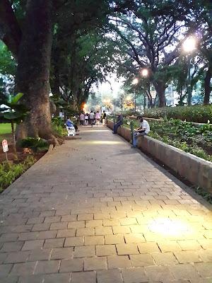 Piknik, Taman, Suropati, Menteng