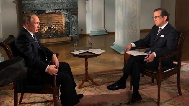 """Putin denuncia la """"campaña antirrusa"""" en el Reino Unido"""