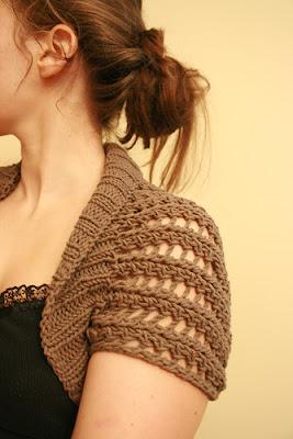 Cách đan áo len choàng vai đơn giản