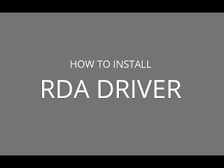RDA 881x Driver