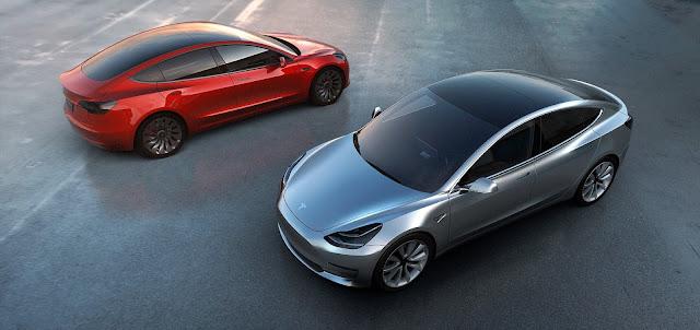 Ein paar Worte zum Tesla Model 3 oder 'das will ich auch'