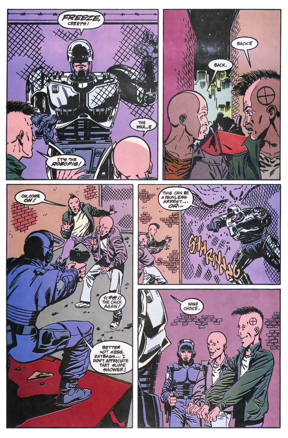 Read online Robocop (1990) comic -  Issue #11 - 6
