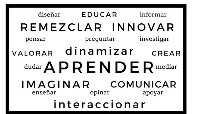 verbos en la educación actual