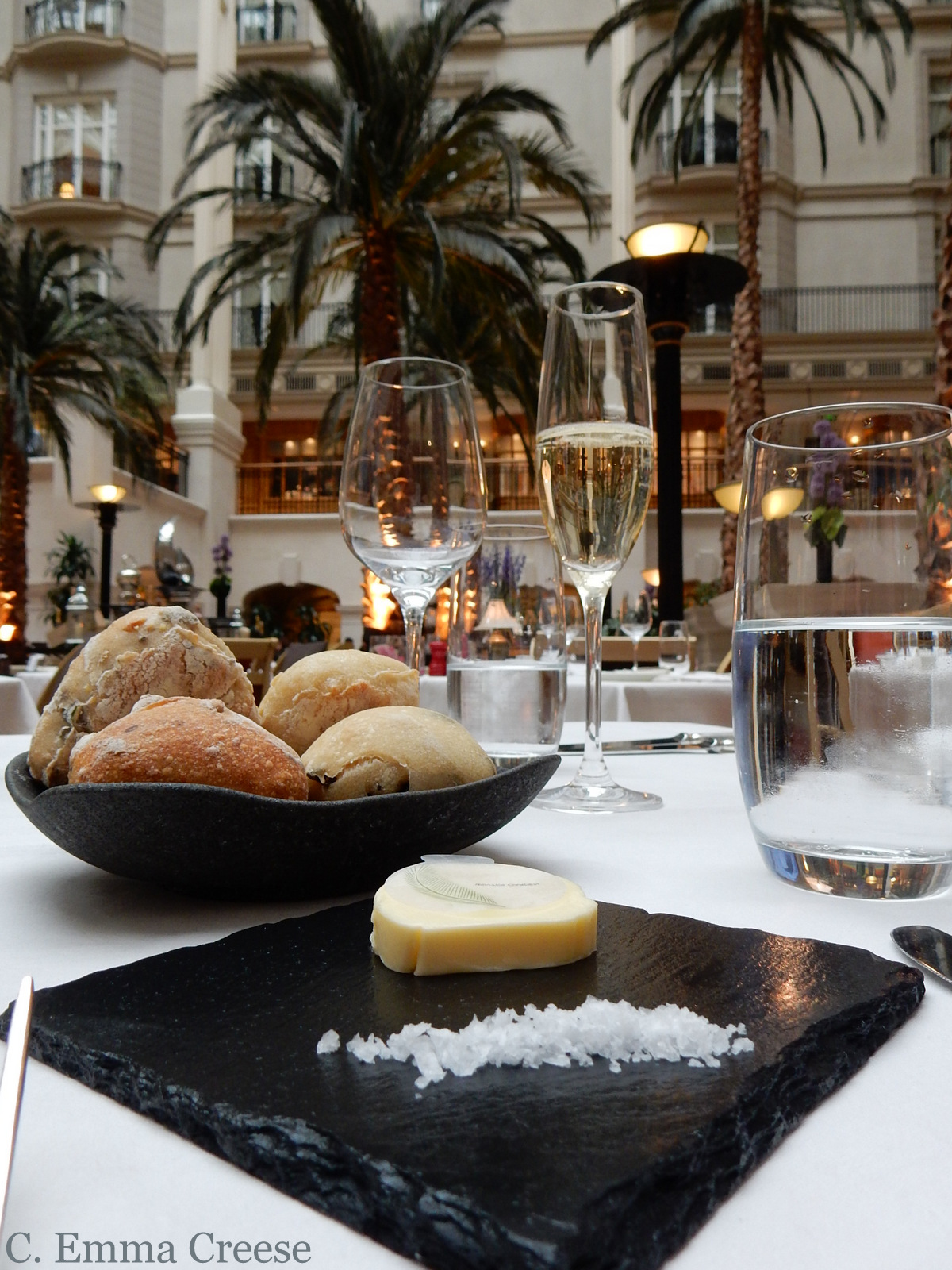 Restaurant Review The Winter Garden Landmark Hotel Adventures of a London Kiwi