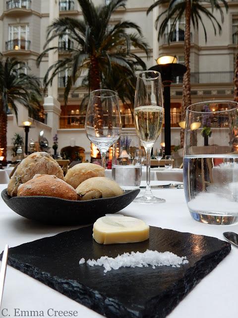 Restaurant Review The Winter Garden Landmark Hotel Adventures of a London Kiwi