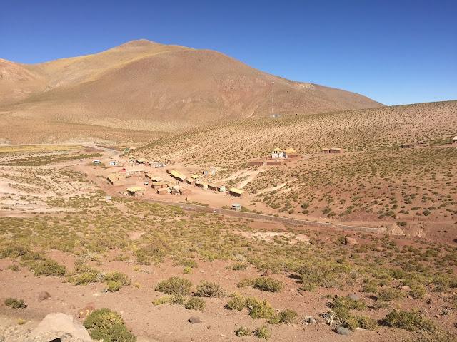 Pueblo de Machuca, no Atacama