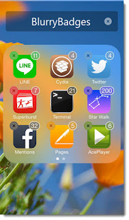 blurrybadges Cydia