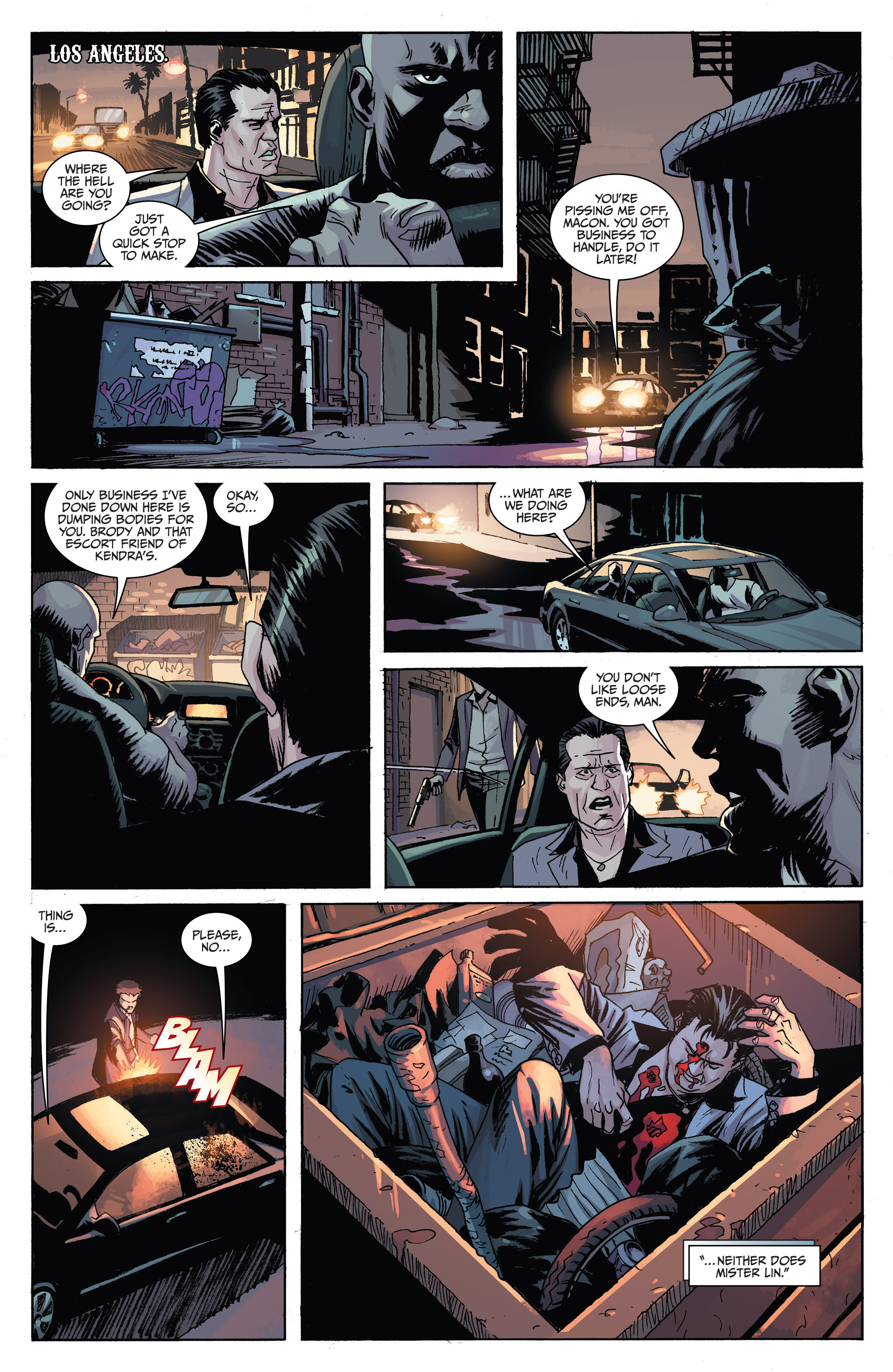 Read online Sons of Anarchy comic -  Issue #6 - 17