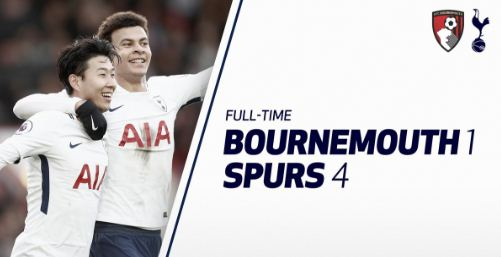 Bournemouth vs Tottenham Hotspur 1-4 Highlights
