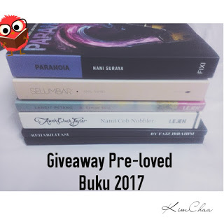 Giveaway Pre-Loved Buku 2017