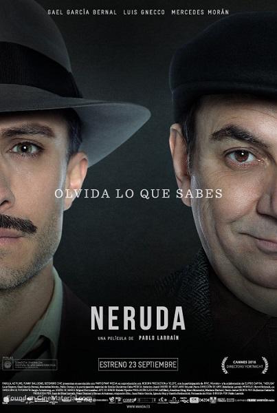 Film Neruda 2016 Bioskop