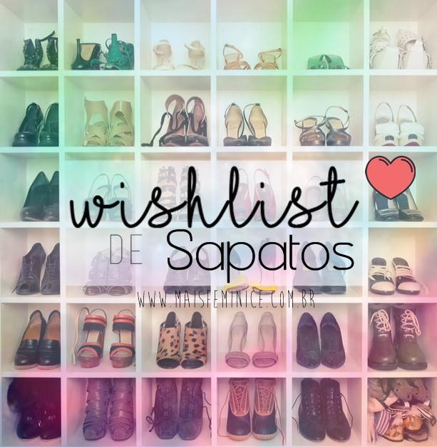 WishList de sapatos