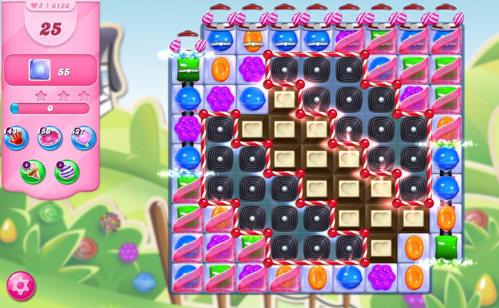 Candy Crush Saga level 6123